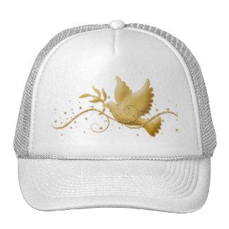 Paloma de los casquillos máximos elegantes de los  gorras
