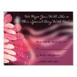 Paloma de los gemelos de la tarjeta de invitaciones personalizada