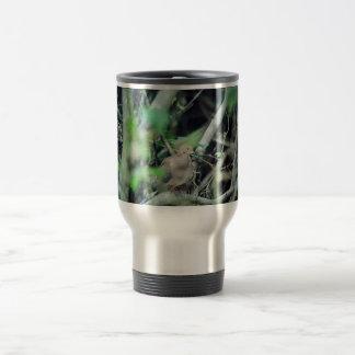 Paloma de luto taza de viaje de acero inoxidable