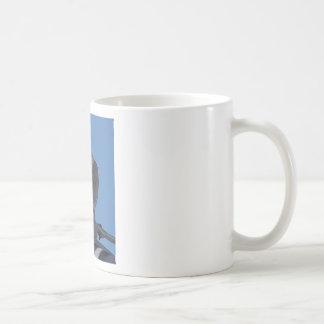 Paloma de luto taza de café