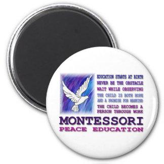 Paloma de Montessori Imán