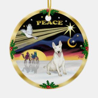 Paloma de Navidad - bull terrier Ornato