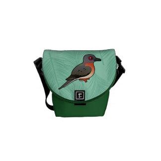 Paloma de pasajero de Birdorable Bolsas Messenger