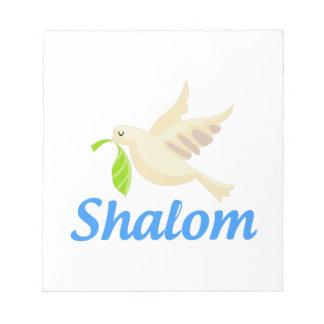 Paloma de Shalom Bloc De Notas