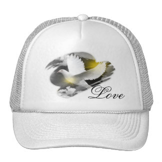 Paloma del amor gorras