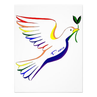 Paloma del arco iris comunicado personal