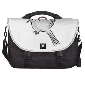 Paloma del blanco bolsas de portatil