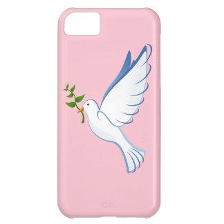 Paloma del blanco funda para iPhone 5C