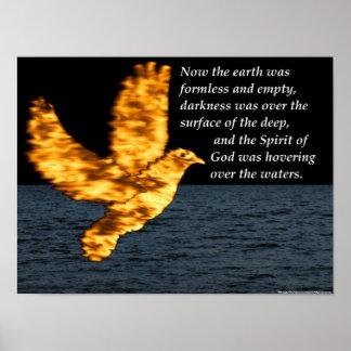 Paloma del Espíritu Santo - la creación Póster
