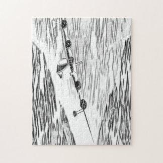 Paloma del hidroavión rompecabeza