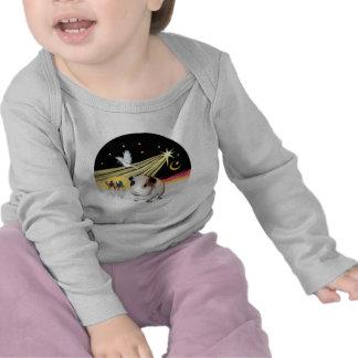 Paloma del navidad - conejillo de Indias 1 Camisetas