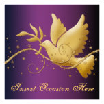 Paloma del navidad de la paz religioso comunicado personal