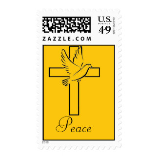Paloma del sello de la paz