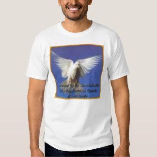 paloma en vuelo, mi familia de la iglesia me amo… poleras