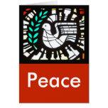 Paloma -- Paz con Shakespeare Tarjetas