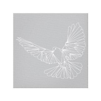 Paloma que vuela 2 impresión en lienzo