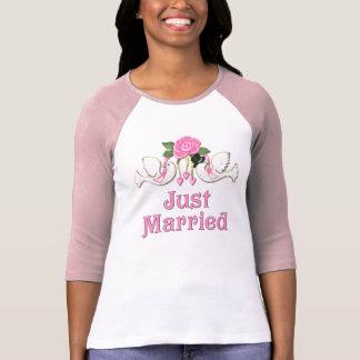 Paloma y subió - apenas camiseta casada