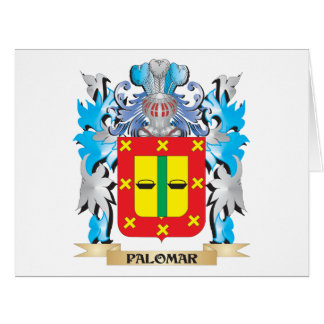 Palomar Coat of Arms - Family Crest Large Greeting Card