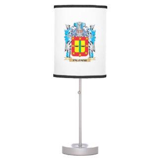 Palomar Coat of Arms - Family Crest Desk Lamp