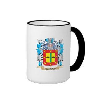 Palomar Coat of Arms - Family Crest Ringer Coffee Mug
