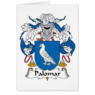 Palomar Family Crest Greeting Card