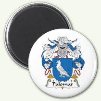 Palomar Family Crest Magnet