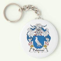 Palomar Family Crest Keychain