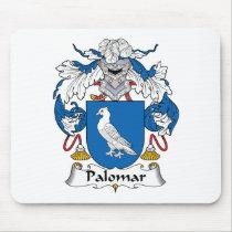 Palomar Family Crest Mousepad