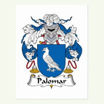 Palomar Family Crest Postcard