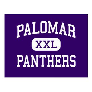 Palomar - Panthers - High - Chula Vista California Postcard