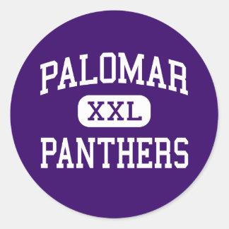 Palomar - Panthers - High - Chula Vista California Classic Round Sticker