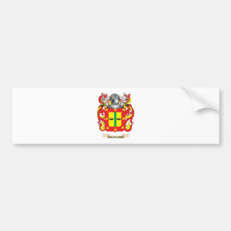 Palomares Coat of Arms (Family Crest) Car Bumper Sticker