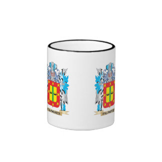 Palomares Coat of Arms - Family Crest Ringer Coffee Mug