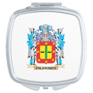 Palomares Coat of Arms - Family Crest Makeup Mirror