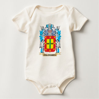 Palomares Coat of Arms - Family Crest Baby Bodysuit