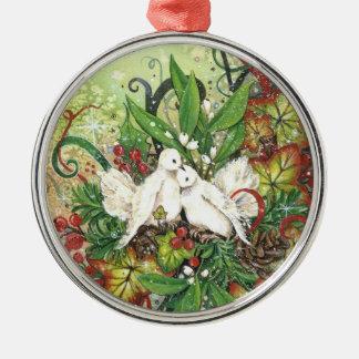 Palomas de la tortuga y ornamento de Deco Ornamento De Reyes Magos