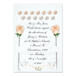Palomas del boda invitación 12,7 x 17,8 cm