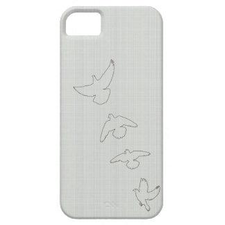 Palomas del vuelo funda para iPhone 5 barely there