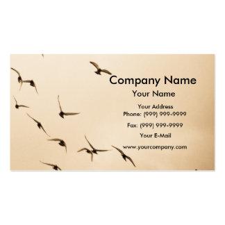 Palomas en el cielo tarjetas de visita
