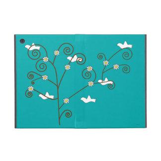 Palomas en un árbol iPad mini carcasas