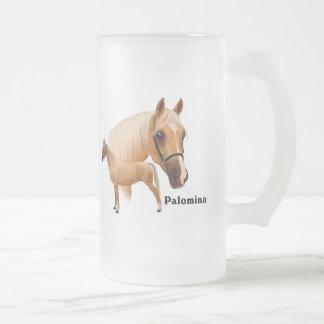 Palomino 16 Oz Frosted Glass Beer Mug