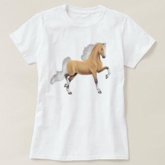 Palomino American Saddlebred Horse Babydoll Shirt