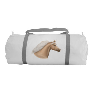 Palomino Arabian Horse Gym Duffle Bag