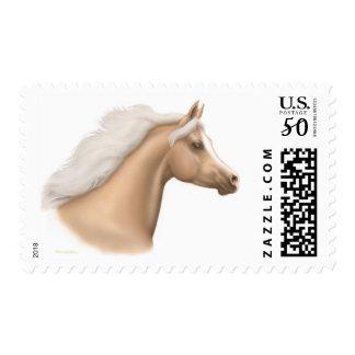 Palomino Arabian Horse Postage