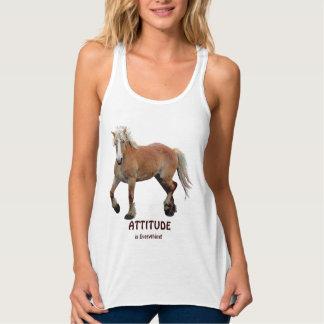 Palomino Belgian Draft Horse-lover Apparel Tank Top