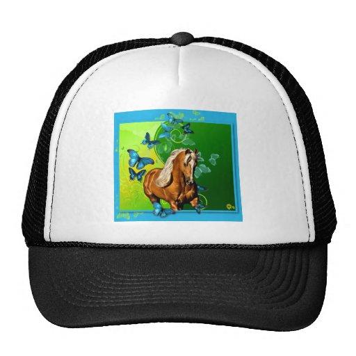 Palomino & Butterflies Trucker Hat