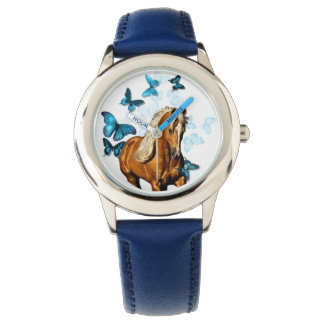 Palomino & Butterflies Wristwatch