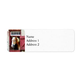 Palomino by Barn Door Label
