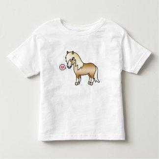 Palomino Cartoon Shetland Pony Love Tees