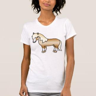 Palomino Cartoon Shetland Pony Tee Shirt